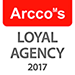 Pass into Europe Arcco's Loyal Agency Certificate 2017